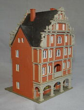 ORNATE ARCADED MERCHANT'S HOUSE WITH SHOP, VGC, VOLLMER, N GAUGE / SCALE