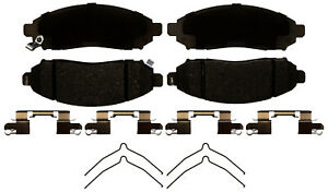 Disc Brake Pad Set fits 2009-2012 Suzuki Equator  ACDELCO ADVANTAGE
