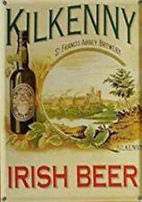 Kilkenny Irish Beer Tin Sign Red Ale St James Gate Guinness Draught Pub Bar Art