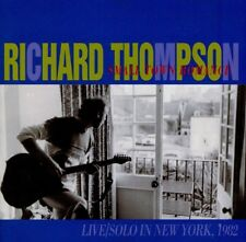 RICHARD THOMPSON  small town romance  SOLO LIVE IN NEW YORK 1982