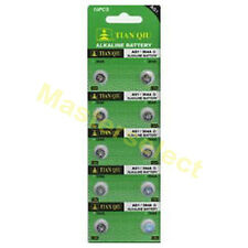 10 Pile Piles Bouton AG 1,AG1,LR621,394,SR621,164