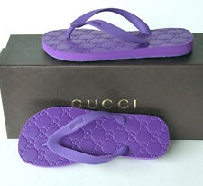 GUCCI New sz 36 - 6  Authentic Womens Thong Sandals Flats Shoes Flip Flops