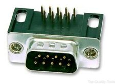 PLUG, D, PCB, R/A, T&D, 9WAY, 4-40UNC, Part # SDE9PNTD