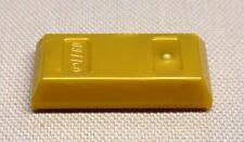 x1 NEW Lego Gold Bar Ingot MINIFIG Utensil Treasure Money Coins