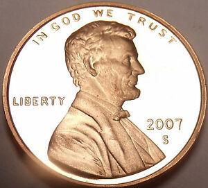 2007-S Blazing Rouge Gemme Preuve Lincoln Cents