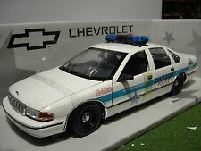 CHEVROLET CAPRICE CHICAGO POLICE CAR 1/18 UT 21020 voiture miniature 180 142096