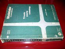 1961 1962 Studebaker Orig! Truck Chassis & Body Parts Catalog_7E_8E All Models