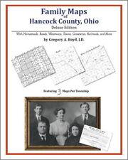 Family Maps Hancock County Ohio Genealogy Plat History