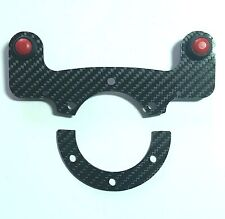 External Carbon Fiber Horn MOMO Button Kit with GLOSSY finish - Dual Button