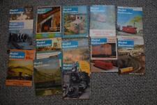 Lot of 13 Model Railroader Magazines 1960s & 1970s