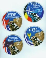 FIGHTING FALCON F-16 SWIRL COLLECTIONS: Set of Four F-16 Swirls (any 4 combo)