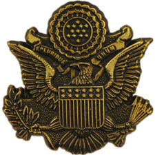 Usa Great Seal Emblem Pin 1-1/8 Inches