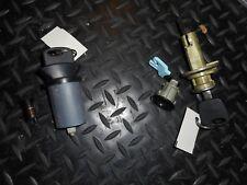 1999 2004 Mustang Cobra Outside Door Lock Set LH RH Black Bezels Keys oem nos 04