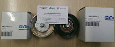 Mopar 68027602AA + 68027603AA PULLEY IDLER Belt  Assembly Jeep Cherokee 2.8td