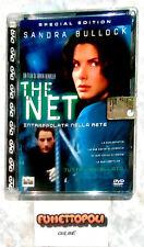 THE NET Intrappolata nella Rete DVD Jewel Box Special Ed.Columbia Pictures Usato