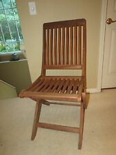 Vintage Folding Chair For Sale Ebay