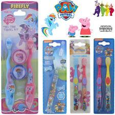 Kids Toothbrush Flashlight Disney Tooth Brush Teeth Soft Oral Care Star Wars Paw