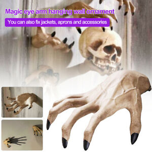 Halloween Scary Horror Zombie Hand Decoration Haunted House Home Party.