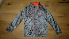 NEW Vodafone Mclaren Mercedes Silver Jacket MENS size L