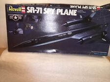 Revell SR 71 Spy Plane Kit 1981 1/72 Scale US A F Unassembled Wingspan 9 1/2""