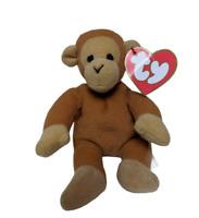 RARE Retired Mcdonalds TY Teenie Beanie Babies BONGO Monkey Vintage 1993