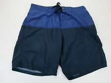 *OLD NAVY* SIZE XL(36) MEN'S DARK BLUE LINED SWIMMING SHORTS