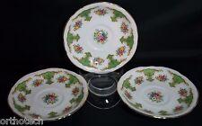 ARKLOW Irish Bone China Porcelain 6305 Saucer Lot of 3 Republic of Ireland Used