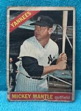 1966 Topps Venezuelan #50 Mickey Mantle New York Yankees (Dist. in Venezuela)