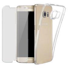 Handy Hülle + Panzerfolie für Samsung Galaxy Handy Tasche Glas Folie Case Etui