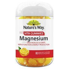 Nature's Way Adults Vita Gummies Magnesium 80 pack