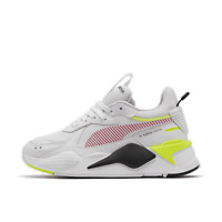 Women's Puma RS-X Reinvention Casual Shoes White/Yellow Alert/Rose 37278001 100