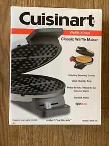 Cuisinart WMR-CA Round Classic Waffle Maker with 5-Setting Browning Control