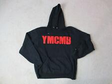 Young Money Cash Money Hoodie Sweater Adult Large Black Red Lil Wayne Drake Mens