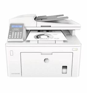 HP All-In-One Printer LaserJet Pro MFP M148FDW Monochrome 1 Year Warranty