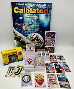 Calciatori Panini 2019 2020 album + Set completo figurine + aggiornamenti C1 C23