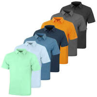 Under Armour Mens CC Scramble Charged Cotton Stretch Golf Polo Shirt