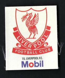MOBIL - FOOTBALL CLUB BADGES (SILK) - #15 LIVERPOOL FC