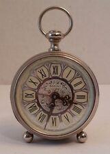 Vintage Saxony Wind Up Alarm Clock Glows in Dark, West Germany, Parts/Repair
