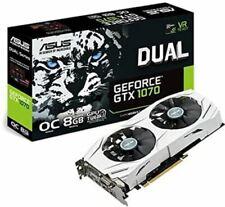 Asus GeForce GTX 1070 Dual OC carte graphique, 8 Go GDDR 5, DVI-D, HDMI 2.0, DP