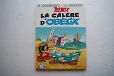 EO ASTERIX - LA GALERE D'OBELIX - PREMIERE EDITION JUILLET 1996 AVEC DEDICACE