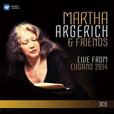 Martha Argerich - ...And Friends Live From The Lugano Festival 2014 (NEW 3CD)