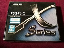 Asus P5GPL-X Socket 775 MotherBoard - 915PL DDR Intel Brand New