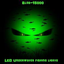 Green DOCK LIGHT! (110 volt) LED Blob-15000 30 ft Cord Underwater 15000 Lumens!