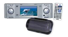 NEW Pyle PLDMR3U In-Dash Marine CD/DVD Receiver with 3'' Built In Monitor