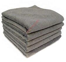 10 x Microfibre Cloths 40 x 40cm * 280GSM Car Cleaning, Drying, Valeting GREY
