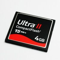 New 4GB Ultra II 15MB/S CF Card,CompactFlash Memory Card 4GB,Genuine