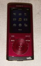 Sony Walkman NWZ-E354 (8B) Digital Media MP3 Player Red. Works great.