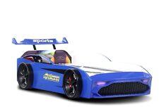 Autobett Jugendbett Kinderbett GT18 Turbo 4x4 in Blau