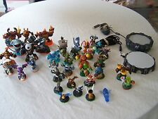 SKYLANDERS XBOX 360 Collection Lot with 36 figures and 2 Portals, NO Game(s)