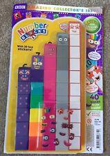 Numberblocks CBeebies magazine 40 plastic toys blocks collectors issue Jan 2019